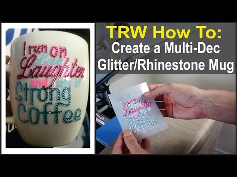Heat To And With Mug Make Glitter Coffee Rhinestone How A Custom EIW2DH9Y
