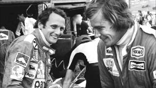 Niki Lauda a James Hunt F1