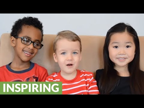 Kids deliver heartwarming message about new brother adoption