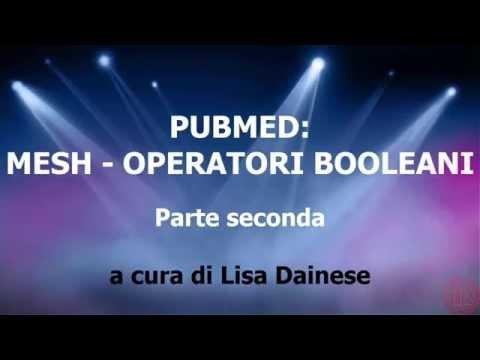 PubMED - Mesh e Operatori booleani.