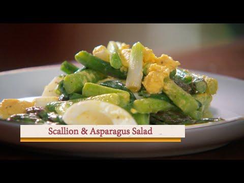asparagus and spring onion potato salad
