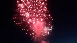 "Vuurwerkshow ""Big Smoking Hot Fireworks"" Boulevard Outdoor 2015"