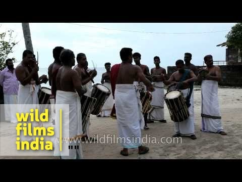 Ethnic drum ensemble of Kerala