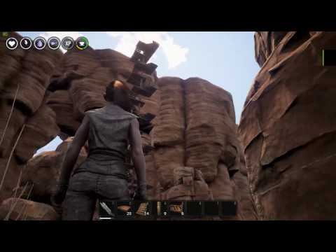Conan Exiles: How to build circles and spiral stairs
