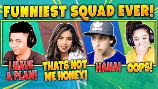 Download Myth, Pokimane, Cizzorz, Valkyrae! Funniest Squad Ever! Fortnite Battle Royale Highlights Moments! Mp3 and Videos