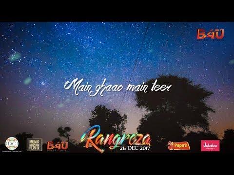 Bulleya - Rangreza   Official Lyrical Video Song   Asrar Shah
