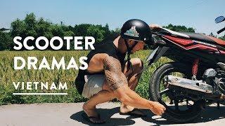 COFFEE MISSION & MOTORBIKE DRAMA | Hoi An, Travel Vlog 067, 2017 | Vietnam Digital Nomad