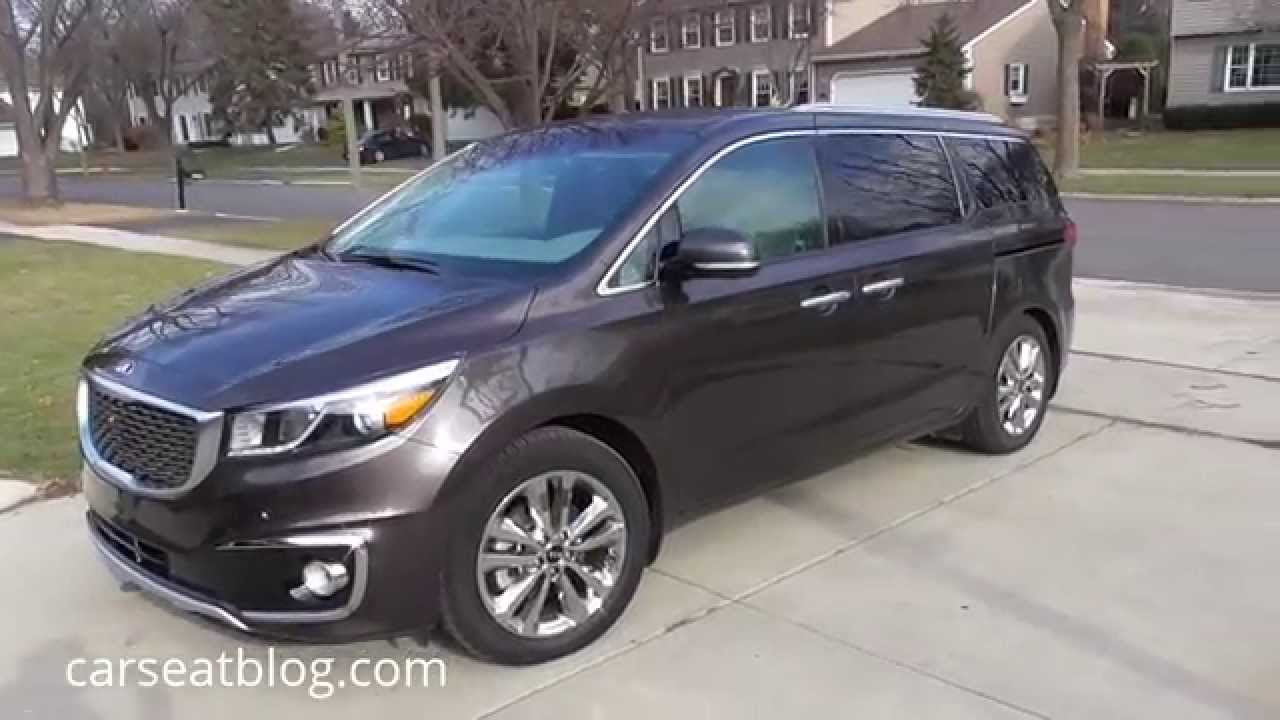drive review sedona car design feature price and kia
