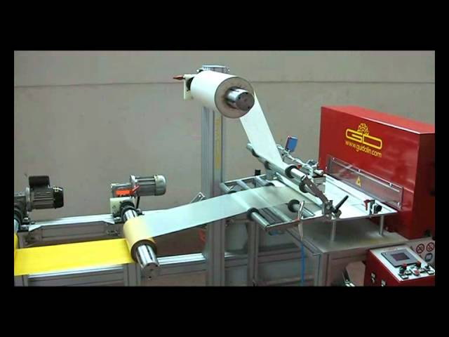 Automatic Guillotine Cutting System - Model GD X-1.WMV