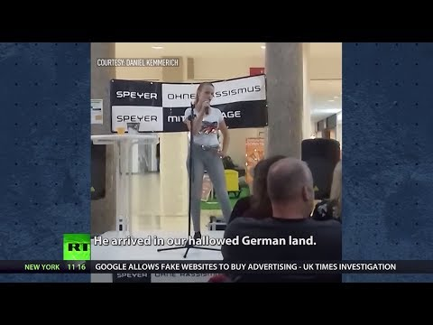 Teen applauded at contest for anti-migrant verse in Germany amid AfD rise