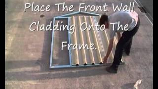 Easy Kit Sheds 3.  Front Frame