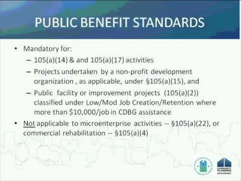 CDBG Webinar: Using State CDBG Funds for Economic Development - 3/9/11