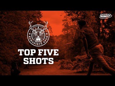 2017 Konopiště Open Top 5 Shots