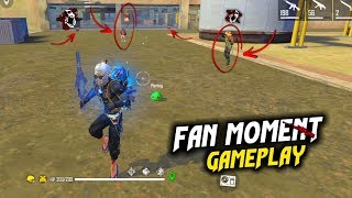 I Meet my fan in game no crying moment best gameplay - Garena Free Fire