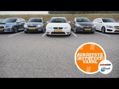 Betaalbare stationwagons: de drie beste van Nederland - #GROOTSTEAUTOTESTNL