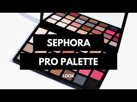 Sephora Pro Cool Palette Look