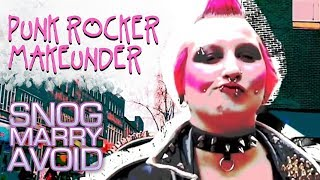 Shocking Punk Rocker Turned Into Stunner | Snog Marry Avoid