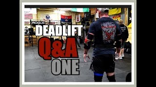 DEADLIFT Questions ANSWERED! DL Specific Q&A - pt I