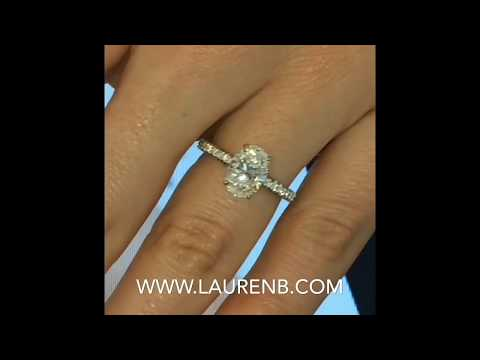 1.69 ct Oval Diamond Engagement ring