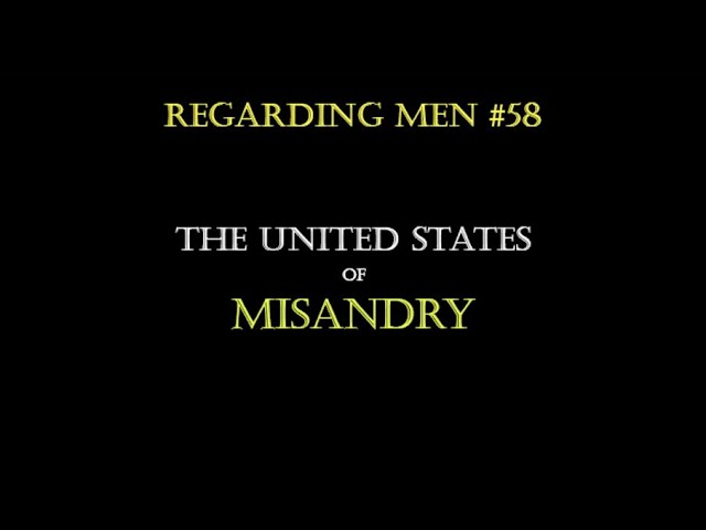 Coronavirus The United States of Misandry   RM#58
