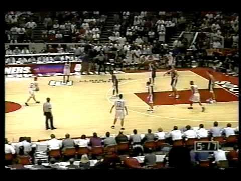 #1 Kansas Jayhawks at #25 Oklahoma Sooners - 1995 - Basketball - Part 7