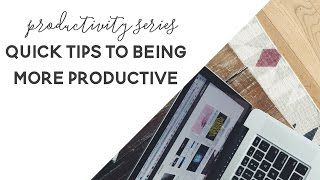 Reoccurring Tasks - Productivity Series