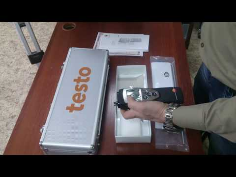 Дифференциальный манометр Testo (Тэсто) 512