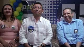 Quirino falou em coletiva de imprensa, do trabalho desenvolvido em parceria com Expedito