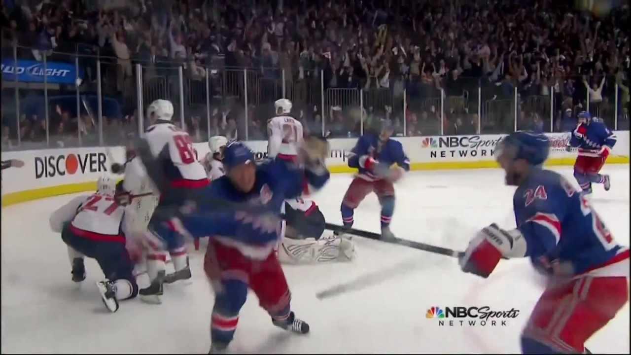7564fcb00dd Brad Richards goal. Washington Capitals vs NY Rangers Game 5 5 7 12 NHL  Hockey