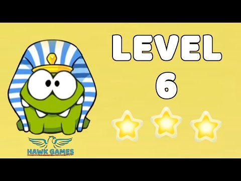 Cut The Rope: Time Travel - Level 4-6 [Ancient Egypt] 3 Stars Walkthrough