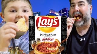 Lays Taste of America Deep Dish Pizza Chips Inspired by Giordano's