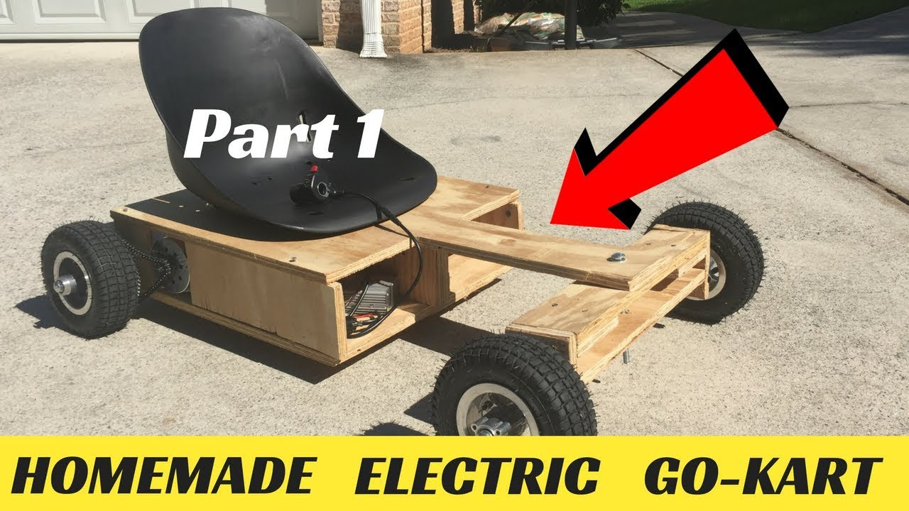 How To Make A Wooden Electric Go Kart Part 1