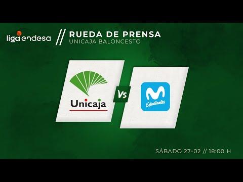 Rueda de prensa Unicaja vs Movistar Estudiantes