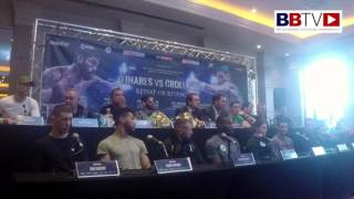 CROLLA - LINARES II - Press Conference and undercard
