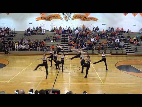 Beatrice High School Dance Team January 25, 2013