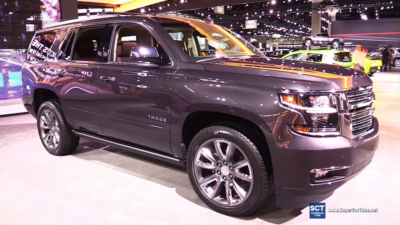 2016 Chevrolet Tahoe Exterior And Interior Walkaround 2017 La Auto Show