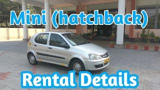 Mini hatchback / Indica Car For Rent / Pollachi / 4 Seater / Raga Raviganesh