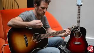 Test guitare Gibson Slash J45