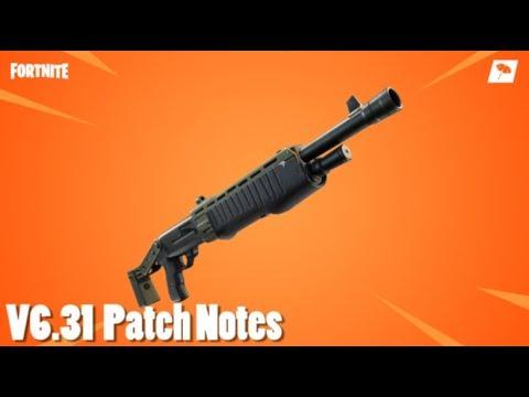 V6.31 Patch Notes! (FORTNITE)