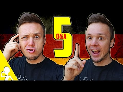 What's It Like To Live In Germany, What Music Do Germans Like? | Q&A #5  | Get Germanized