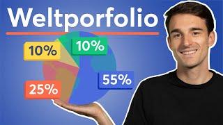 ETF Portfolio: Das Weltportfolio nach GERD KOMMER (inkl. Excel Datei) | Passiv Investieren Lernen #3