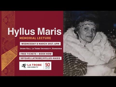 Hyllus Maris Memorial Lecture 2017