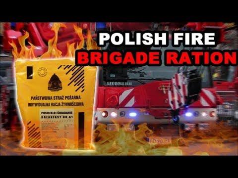 Polish Firebrigade Ration MRE Review Emergency Food 2016 Polish Breakfast