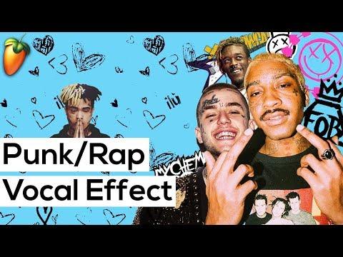 Punk Rap Vocal Effect In FL Studio (Like Lil Uzi Vert, Lil Peep, Juice WRLD)