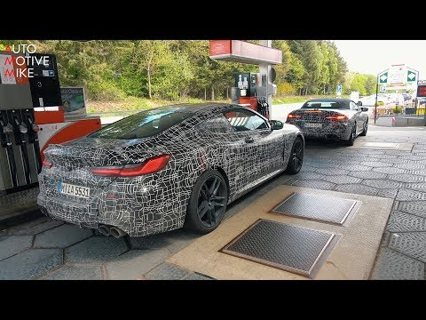Several BMW M8 prototypes caught playing hard and sounding Awesome