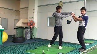 CRゴルフ担当ラボコーチ佐藤プロがツイストをレッスンします。 今回はく...