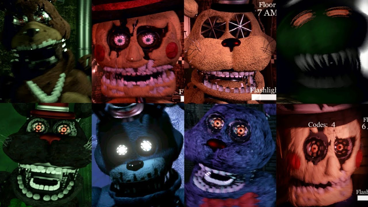 Download The Return to Freddy's 5: Resurrection ALL JUMPSCARES / ENDING / EXTRAS