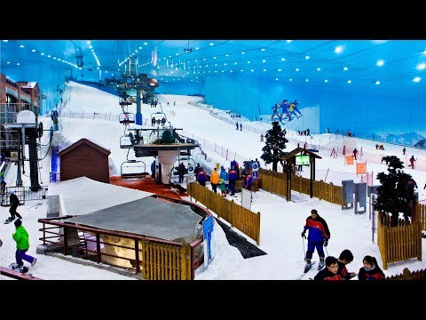 Ski Dubai: a ski resort in the desert