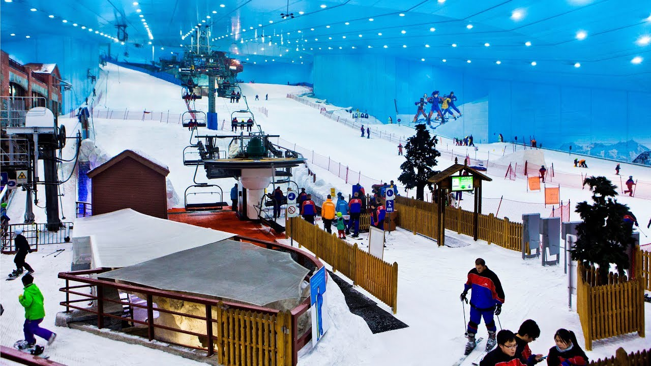 Ski Dubai A Resort In The Desert