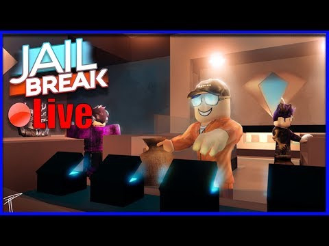 🔴 JAILBREAK ALL DAY !! T-SHIRT CONTEST  !GIVEAWAY TODAY  !!DISCORD